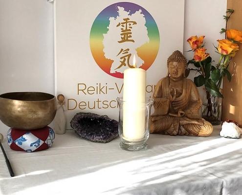 Reiki-Kerze